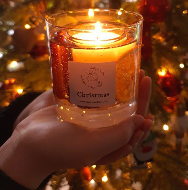 Christmas Gel Candle